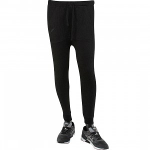 Publish Thrillo Bonded 3 Gauge Knit Slouch Pants (black)