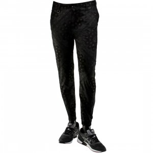 Publish Banwell Paisley Bandana Pattern Jogger Pants (black)