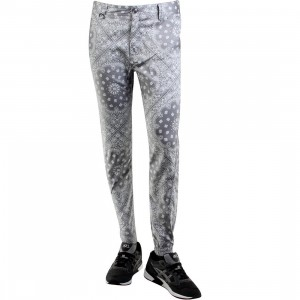 Publish Banwell Paisley Bandana Pattern Jogger Pants (gray)
