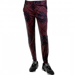 Publish Banwell Paisley Bandana Pattern Jogger Pants (navy)