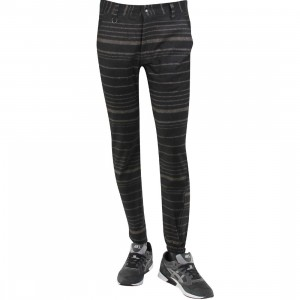 Publish Aaron Premium Wool Gradient Stripe Jogger Pants (black)