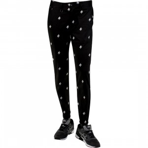 Publish Damian Polka Quill Twill Jogger Pants (black)