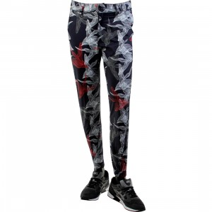 Publish Johan Floral Poplin Jogger Pants (navy)