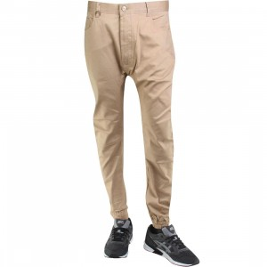 Publish Kelson Semi Drop Crotch Jogger Pants (tan)