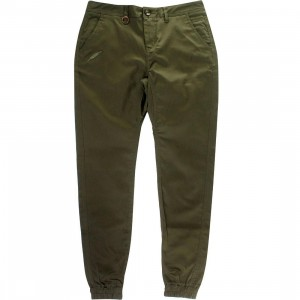 Publish Women Hanna Stretch Twill Jogger Pants (olive)