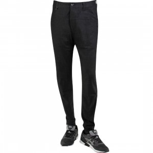 Publish Dextor Brushed Two Tone Twill Jogger Pants (black)