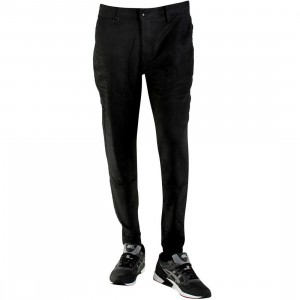 Publish Antonello Twill Jogger Pants (black)