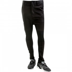 Publish Zak Panel Drop Stack Pants (black)