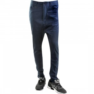Publish Tosh Drop Stack Pants (navy)