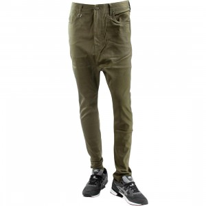 Publish Tosh Drop Stack Pants (olive)