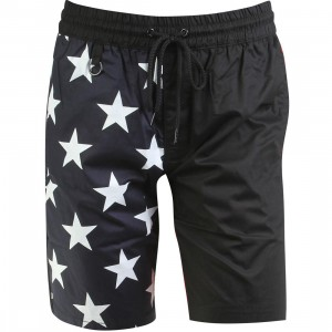 Publish x RBW Wren Enlarged Star Pattern Shorts (black)