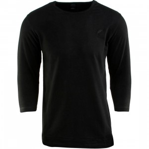 Publish Everit French Terry 3/4 Sleeve Tee (black)