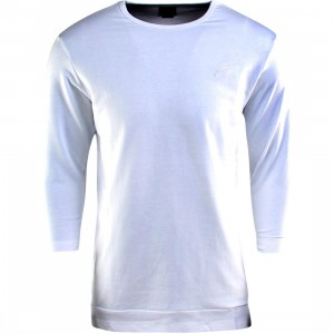 Publish Everit French Terry 3/4 Sleeve Tee (white)