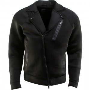 Publish Turner Neoprene Moto Jacket (black)