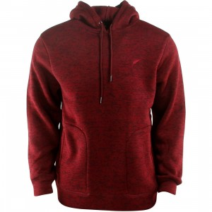 Publish Arnelle Heathered Hooded Pullover Hoody (burgundy / maroon)