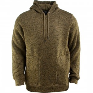 Publish Arnelle Heathered Hooded Pullover Hoody (olive)