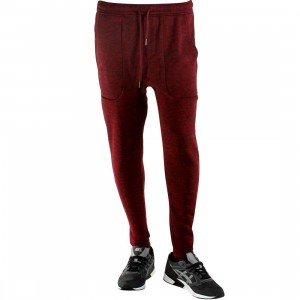 Publish Noel Heathered Jogger Pants (burgundy / maroon)