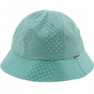 Publish Sinclair Signature Polka Dot Bucket Hat (teal / mint)