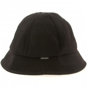 Publish Tucker Wool Bucket Hat (black)
