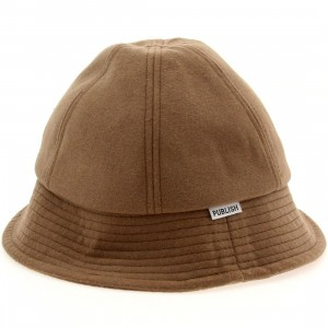 Publish Tucker Wool Bucket Hat (khaki)