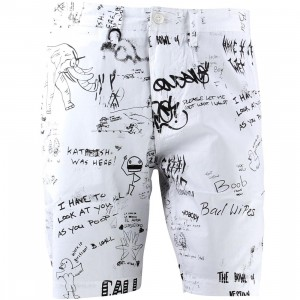 Publish Jared Shorts (white)