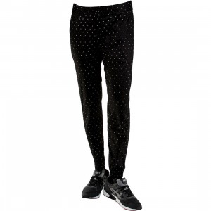 Publish Nato 3M Polka-Dota Printed Jogger Pants (black)