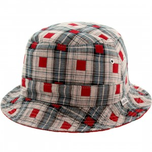 Publish Nicolo Bucket Hat (red)
