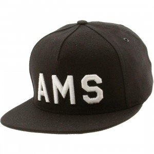 Publish Amsterdam 5 Panel Cap (black)