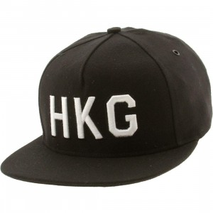 Publish Hong Kong 5 Panel Cap (black)