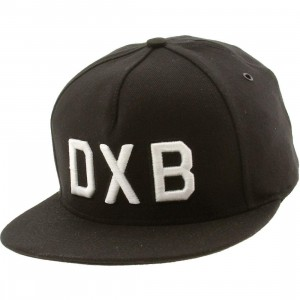 Publish Dubai 5 Panel Cap (black)
