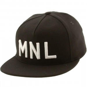 Publish Manila 5 Panel Cap (black)