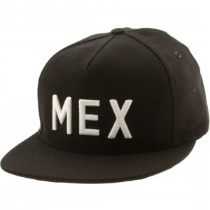 Publish Mexico City 5 Panel Cap (black)