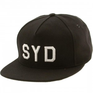 Publish Sydney 5 Panel Cap (black)