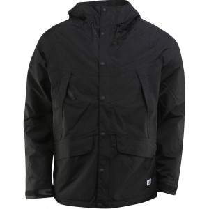 Penfield Clarkdale Hooded Shell Jacket (black)