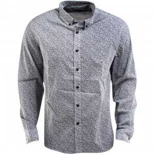 Penfield Banning Floral Long Sleeve Shirt (blue)