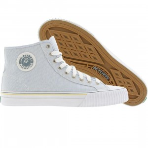 PF Flyers Center High Seasonal (pinstripe blue)