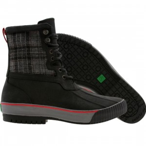 PF Flyers Vulc Leather Boot (black)