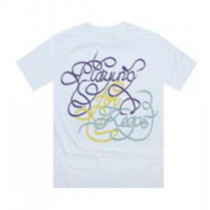 Playing For Keeps Laces Tee (white)