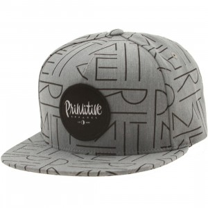 Primitive Deco Adjustable Cap (gray)