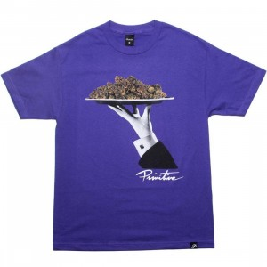 Primitive Main Course Tee (purple)