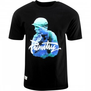 Primitive Paradise Now Tee (black)