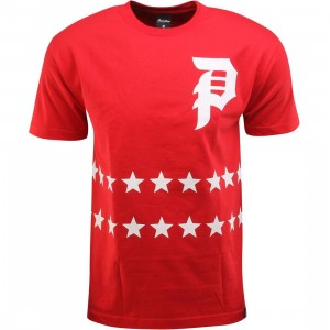 Primitive Salute Tee (red)