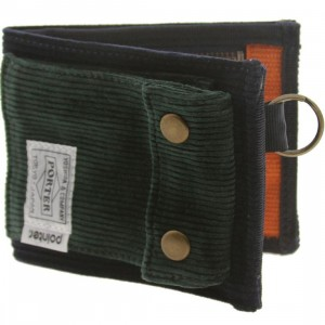 Pointer x Porter Wallet (navy / green)