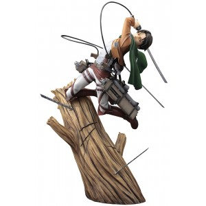 PREORDER - Kotobukiya ARTFX J Attack on Titan Levi Renewal Package Ver. Statue (brown)