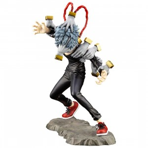 Kotobukiya ARTFX J My Hero Academia Tomura Shigaraki With Bonus Face Part Statue (black)