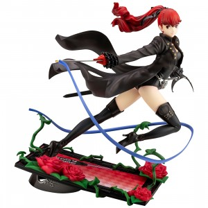 Kotobukiya ARTFX J Persona 5 Royal Kasumi Yoshizawa Phantom Thief Ver. Statue With Bonus Face Part (black)