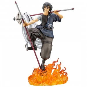 PREORDER - Kotobukiya ARTFX J Fire Force Shinmon Benimaru Statue With Bonus Face Part (gray)