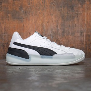 Puma Men Clyde Hardwood (white / black)