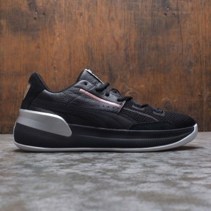 Puma Men Clyde Hardwood Metallic (black / silver)
