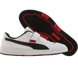 Puma Sky II + (white / black / ribbon red)
